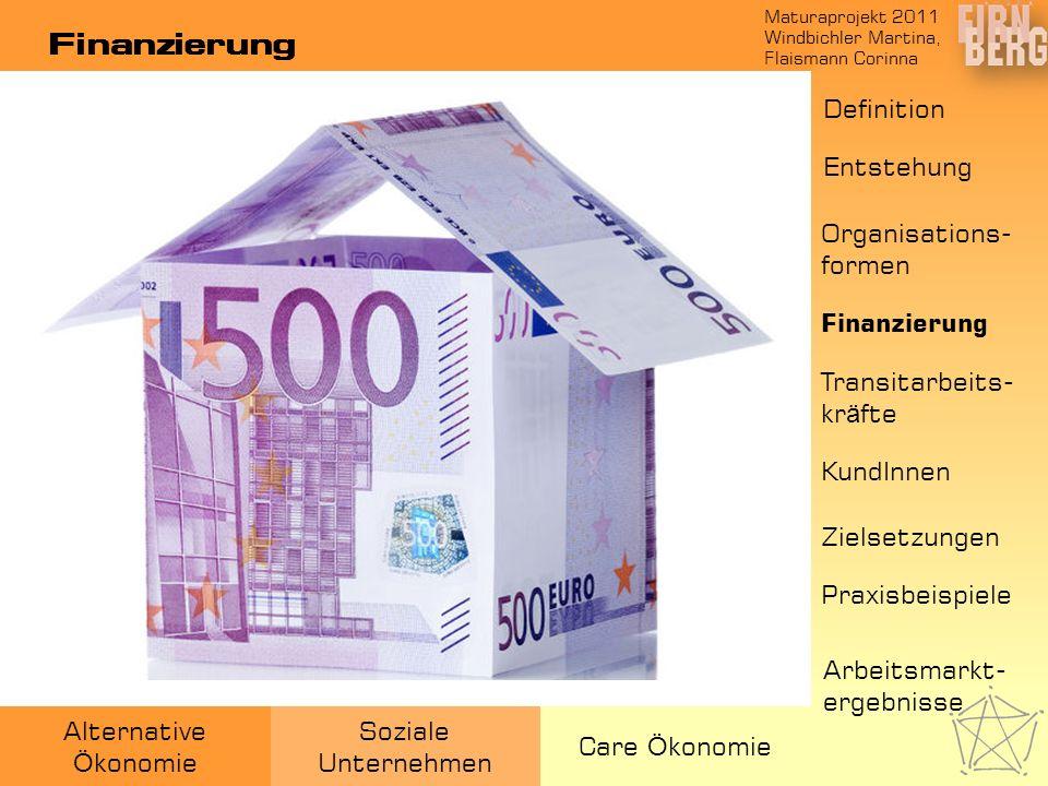 Finanzierung Definition Entstehung Organisations-formen Finanzierung