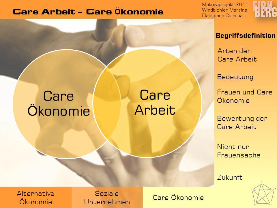 Care Arbeit – Care Ökonomie