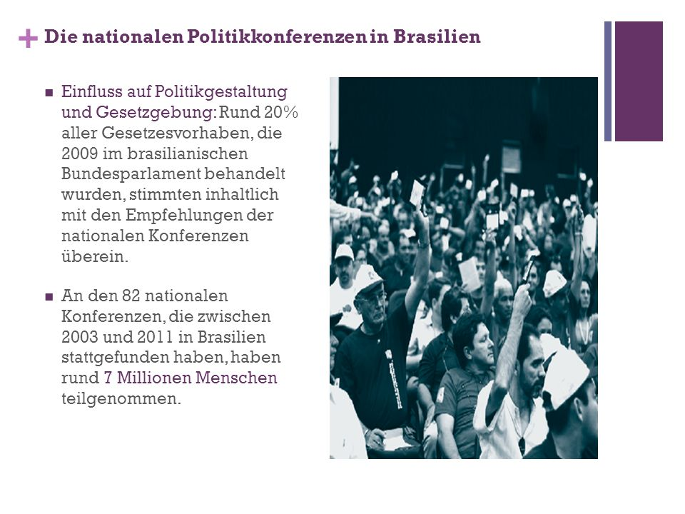 Die nationalen Politikkonferenzen in Brasilien
