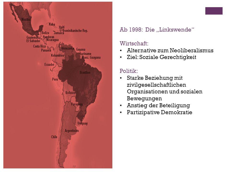 """Ab 1998: Die """"Linkswende Wirtschaft: Alternative zum Neoliberalismus. Ziel: Soziale Gerechtigkeit."""