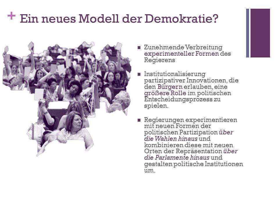 Ein neues Modell der Demokratie