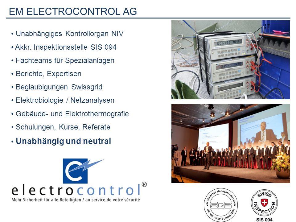 EM ELECTROCONTROL AG Unabhängiges Kontrollorgan NIV