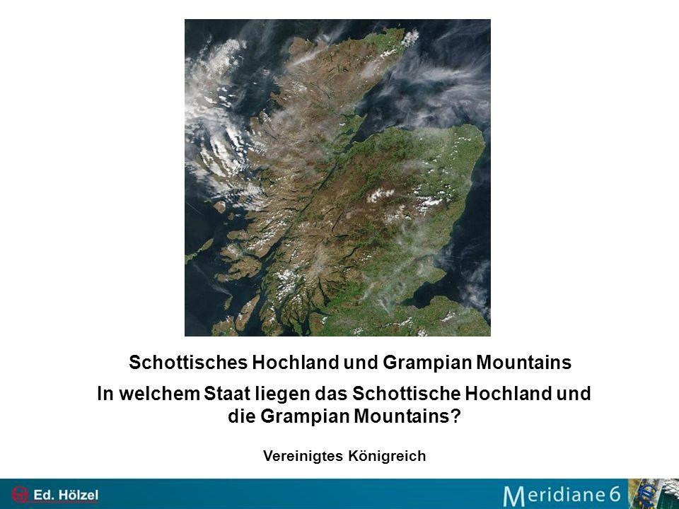 Schottisches Hochland und Grampian Mountains Vereinigtes Königreich