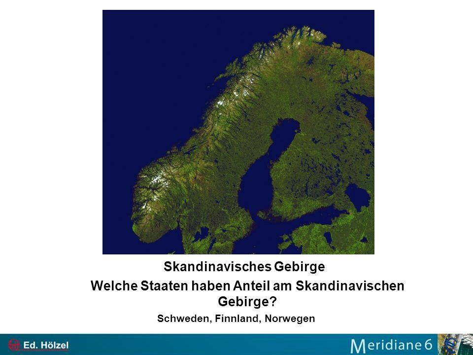 Skandinavisches Gebirge