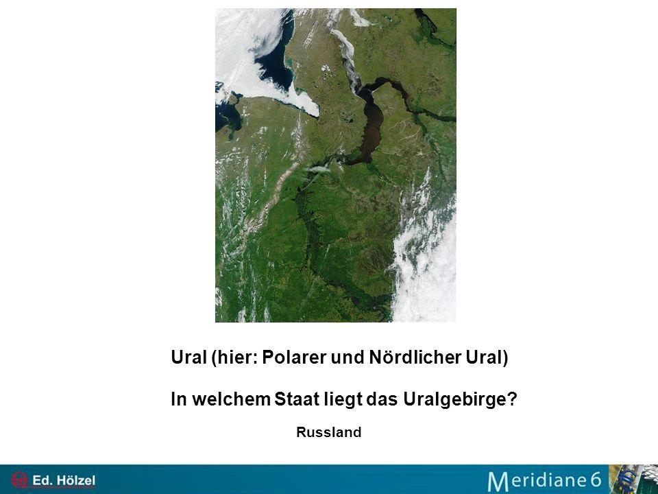 Ural (hier: Polarer und Nördlicher Ural)