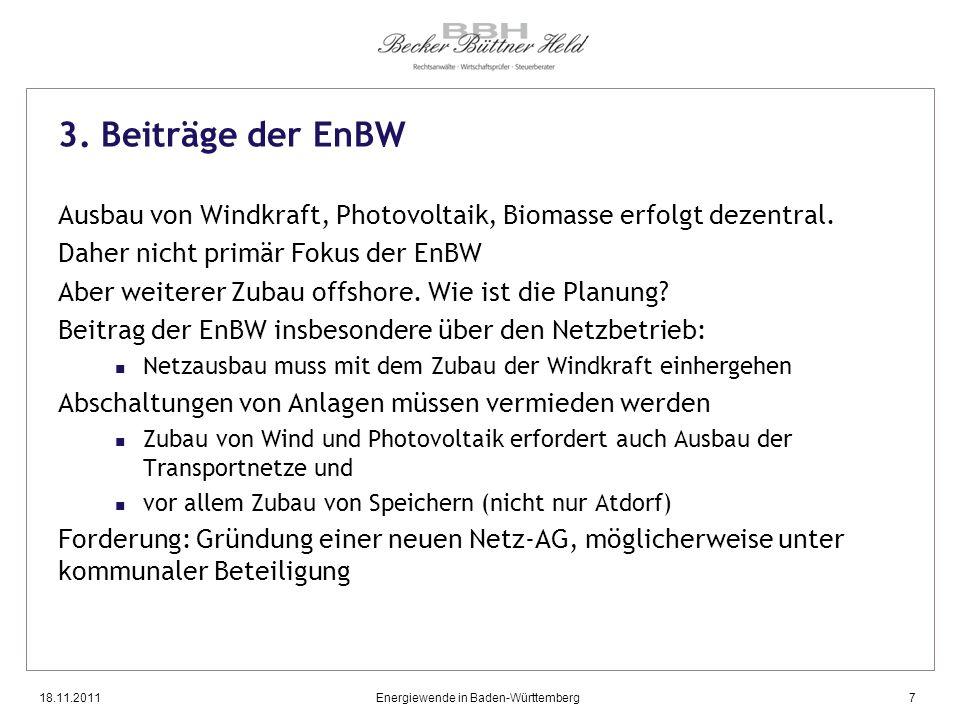 Energiewende in Baden-Württemberg