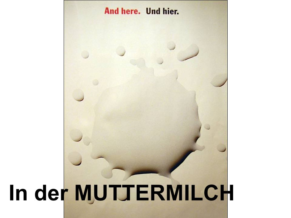 In der MUTTERMILCH
