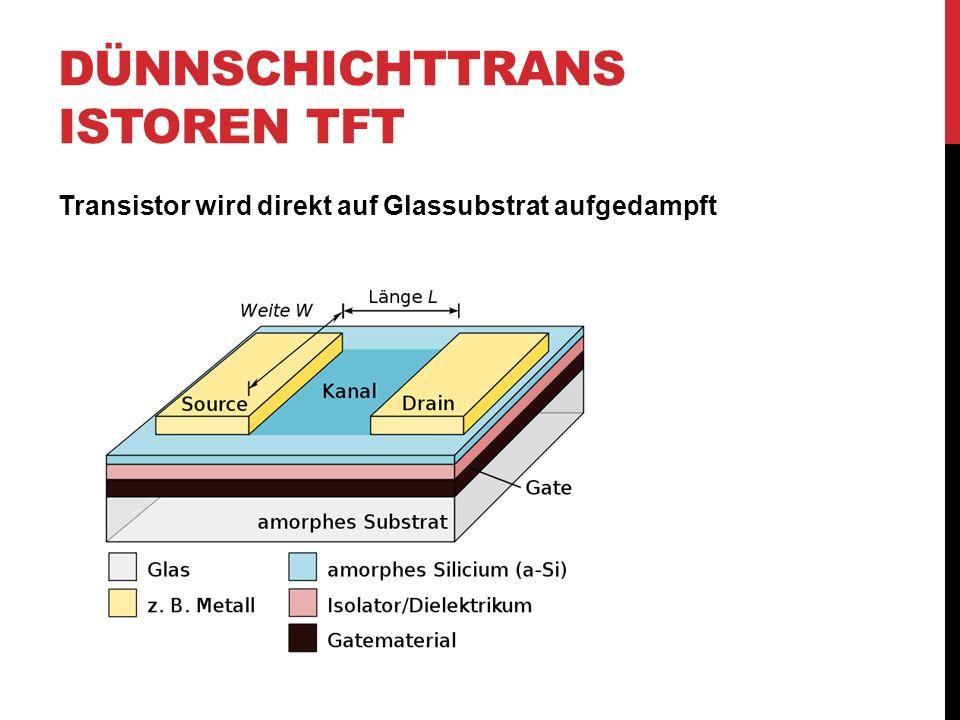 Dünnschichttransistoren TFT