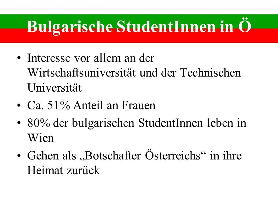 Bulgarische StudentInnen in Ö