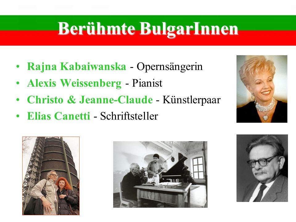 Berühmte BulgarInnen Rajna Kabaiwanska - Opernsängerin