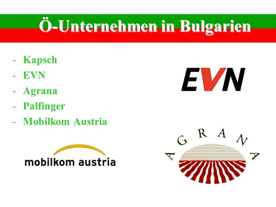 Ö-Unternehmen in Bulgarien