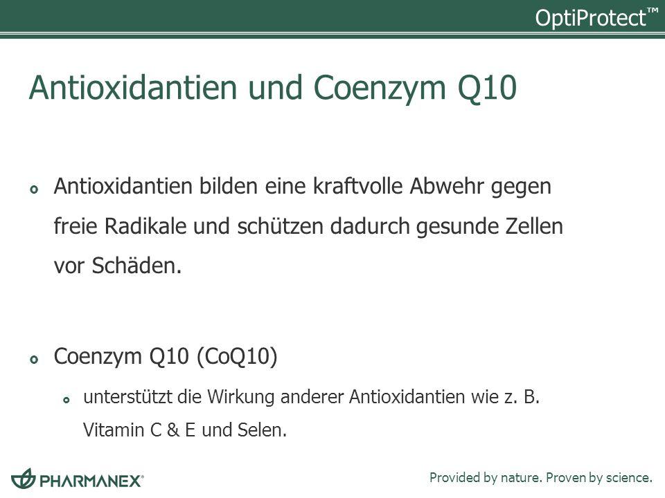 Antioxidantien und Coenzym Q10