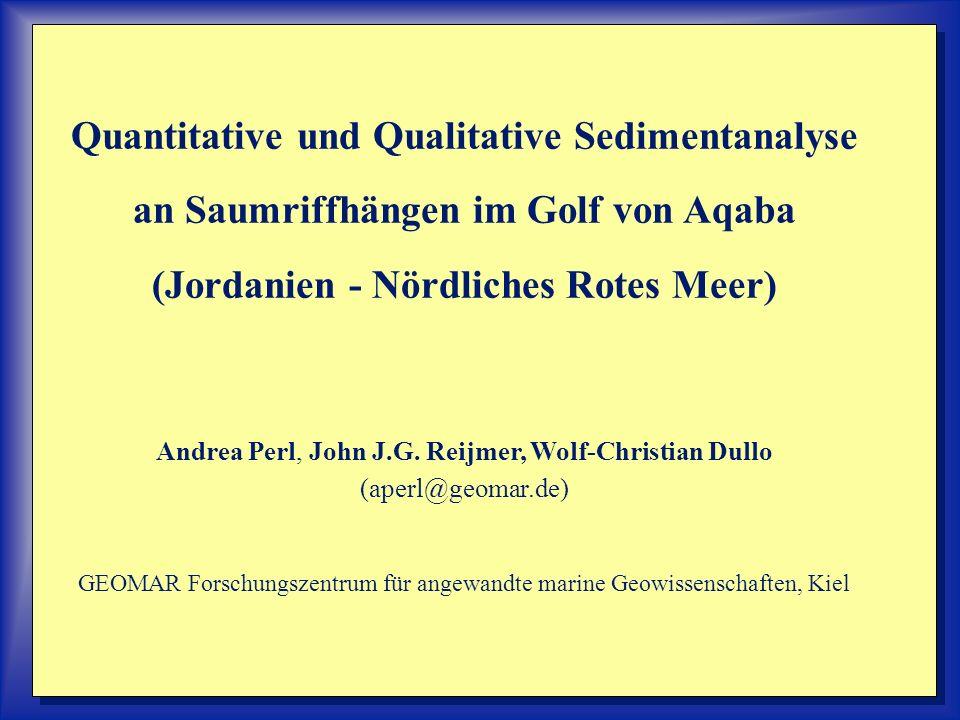 Quantitative und Qualitative Sedimentanalyse