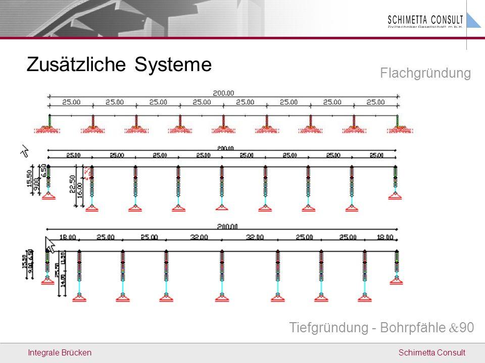 Zusätzliche Systeme Flachgründung Tiefgründung - Bohrpfähle 90