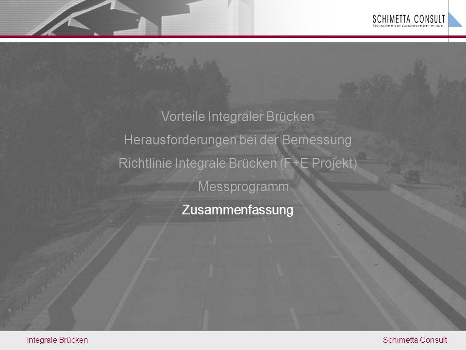 Vorteile Integraler Brücken Herausforderungen bei der Bemessung