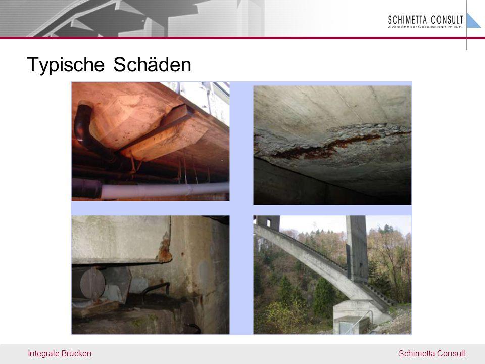 Typische Schäden Integrale Brücken