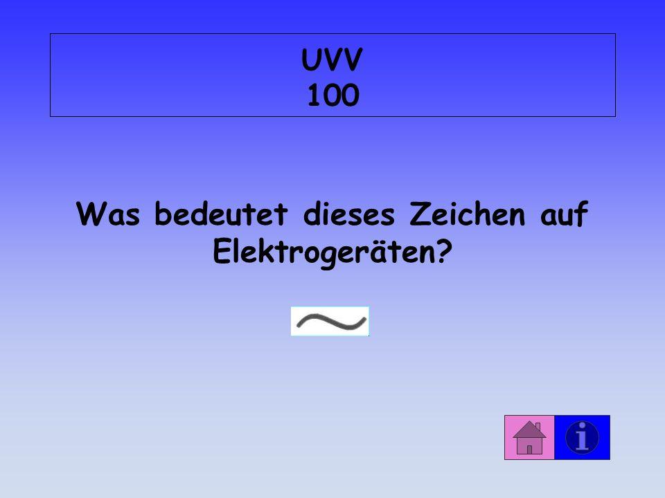 Was bedeutet dieses Zeichen auf Elektrogeräten