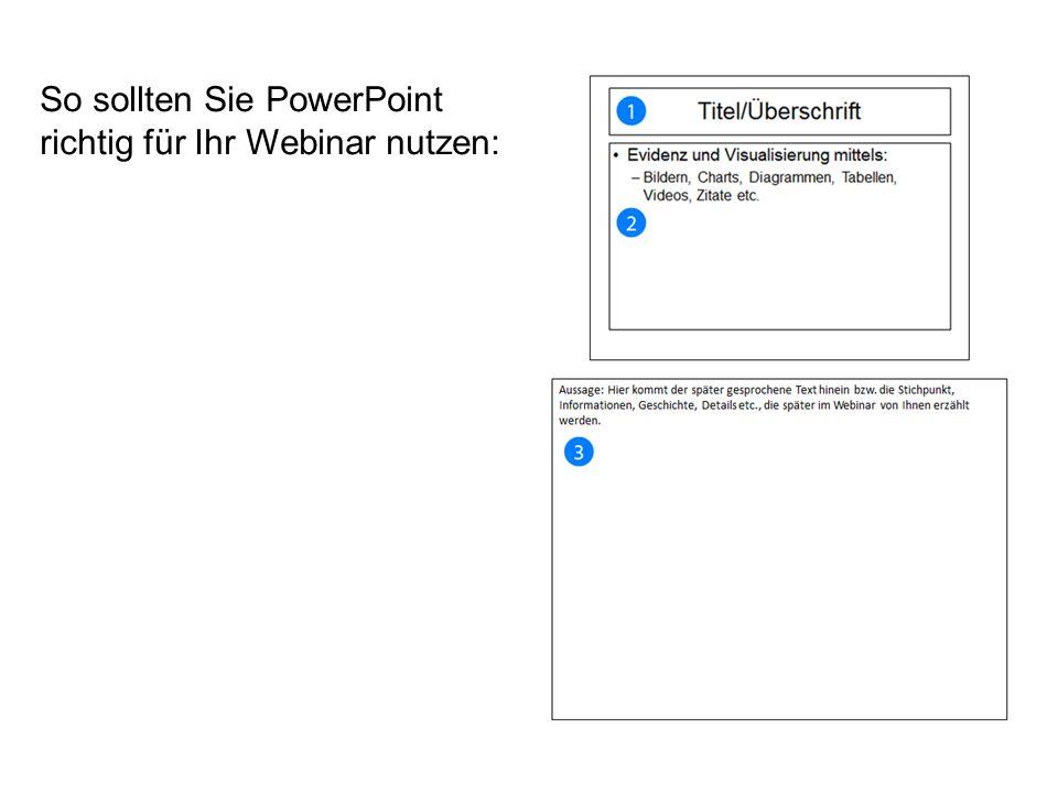 So sollten Sie PowerPoint