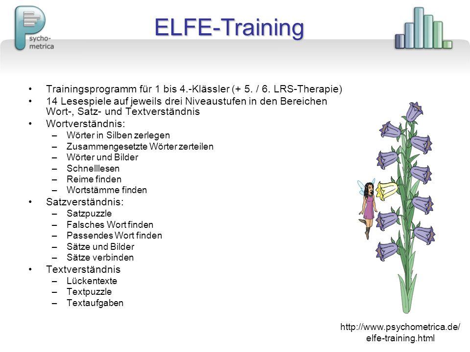 http://www.psychometrica.de/ elfe-training.html