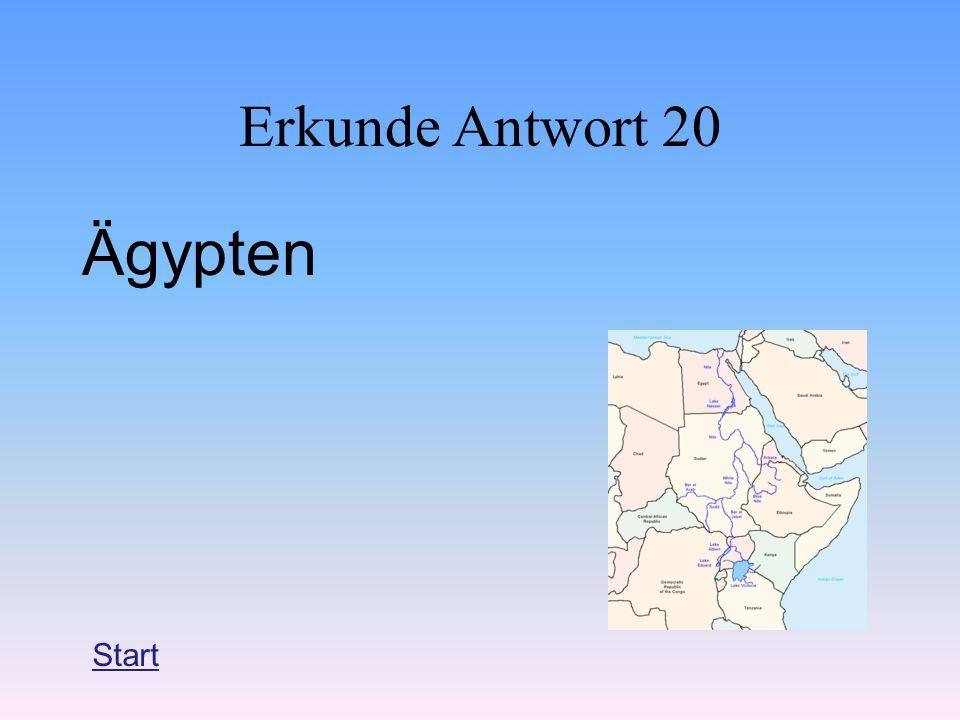 Erkunde Antwort 20 Ägypten Start