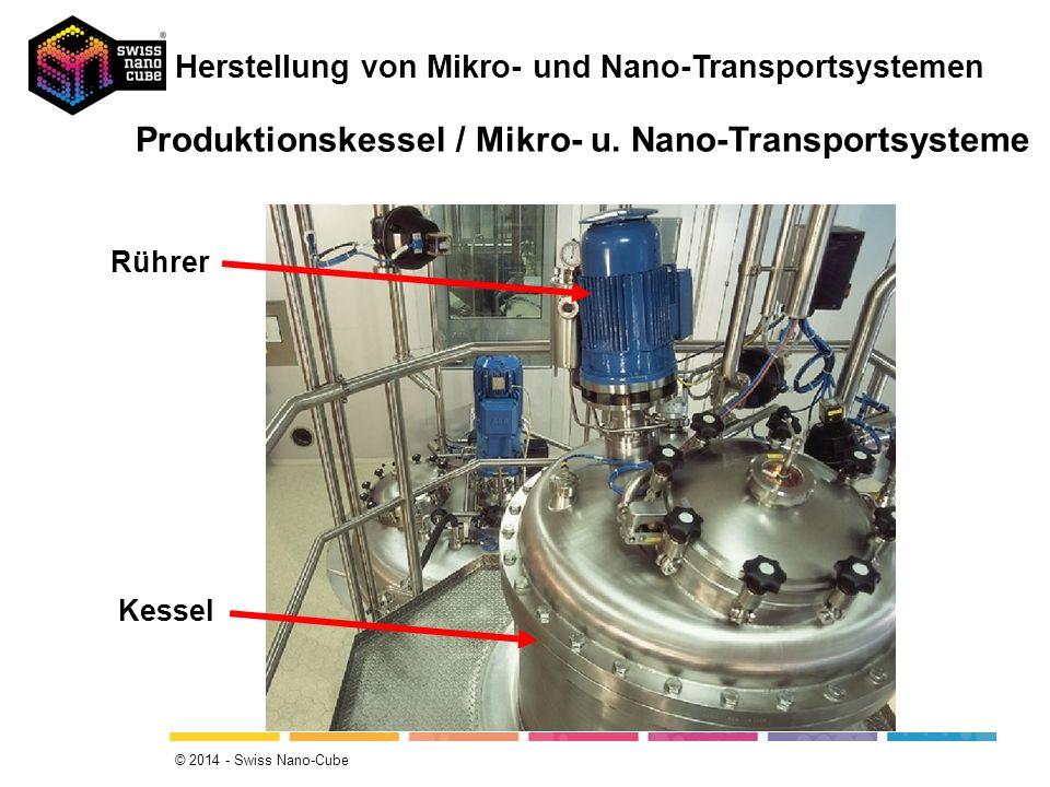 Produktionskessel / Mikro- u. Nano-Transportsysteme