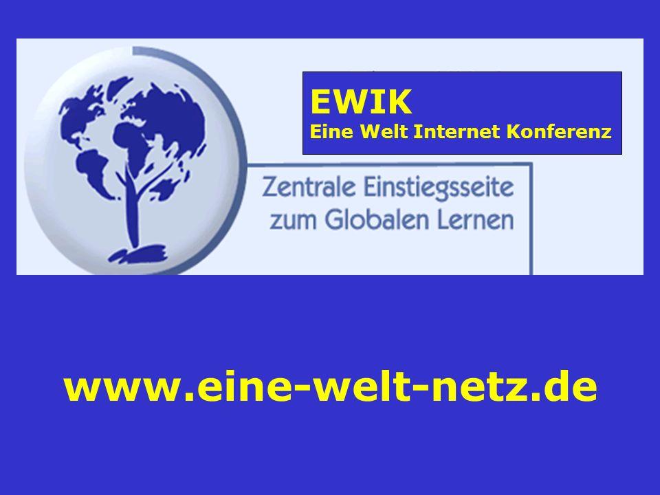 www.eine-welt-netz.de EWIK Eine Welt Internet Konferenz
