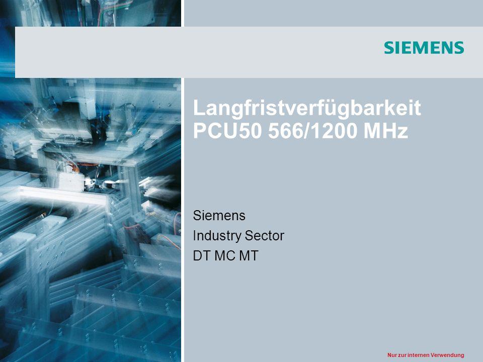 Langfristverfügbarkeit PCU50 566/1200 MHz