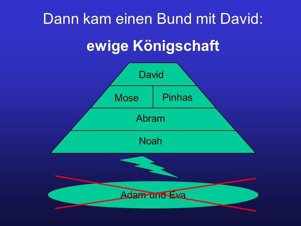 Dann kam einen Bund mit David: