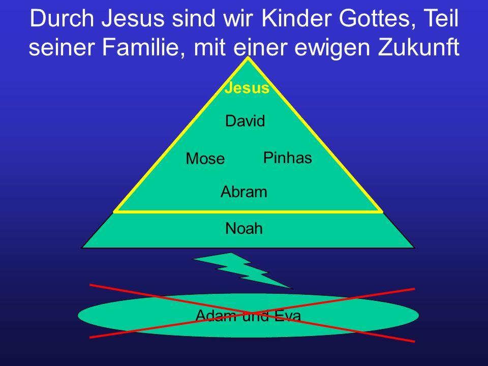 Durch Jesus sind wir Kinder Gottes, Teil seiner Familie, mit einer ewigen Zukunft