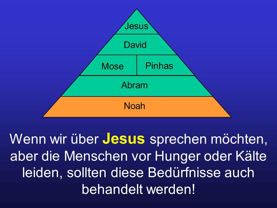 Jesus David. Mose. Pinhas. Abram. Noah.