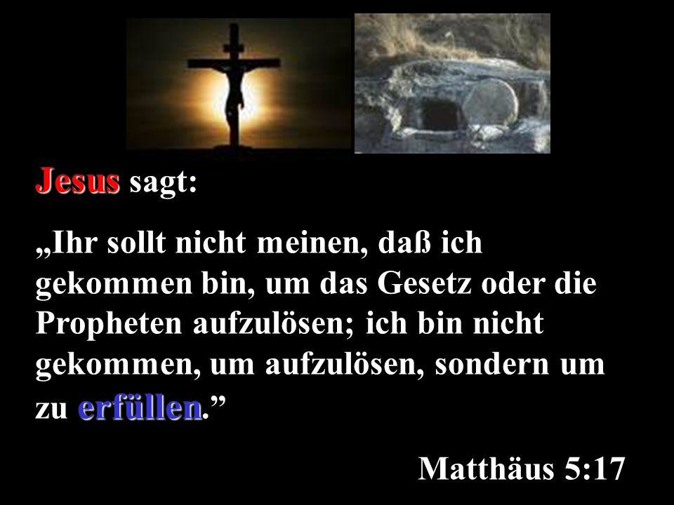 Jesus sagt: