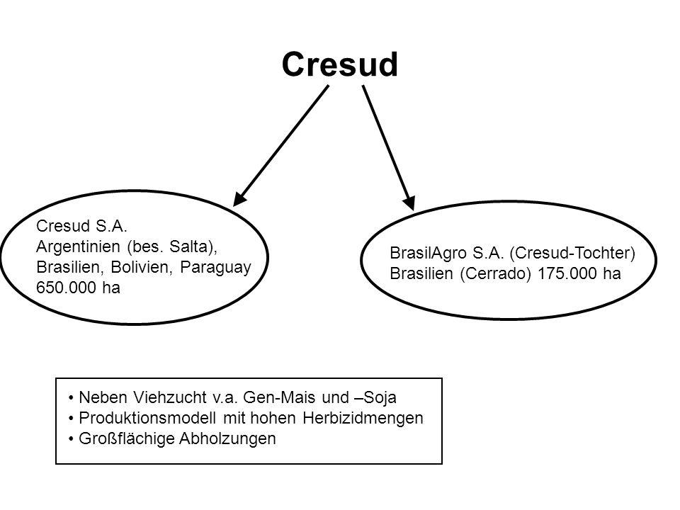 Cresud Cresud S.A. Argentinien (bes. Salta),