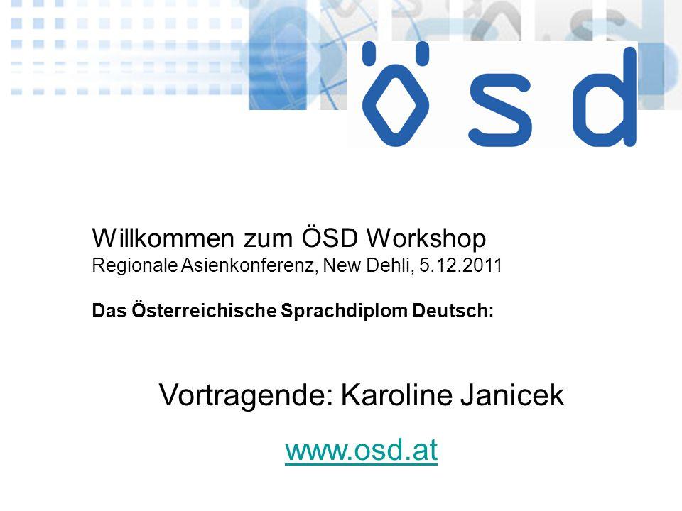 Vortragende: Karoline Janicek
