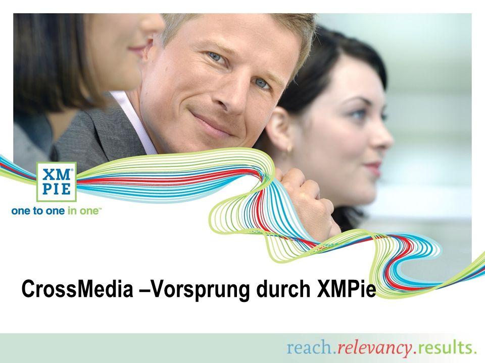 CrossMedia –Vorsprung durch XMPie