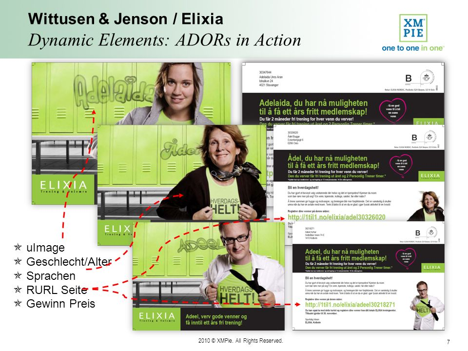 Wittusen & Jenson / Elixia Dynamic Elements: ADORs in Action