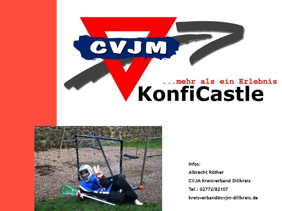 Infos: Albrecht Röther CVJM Kreisverband Dillkreis Tel.: 02772/82107 kreisverband@cvjm-dillkreis.de