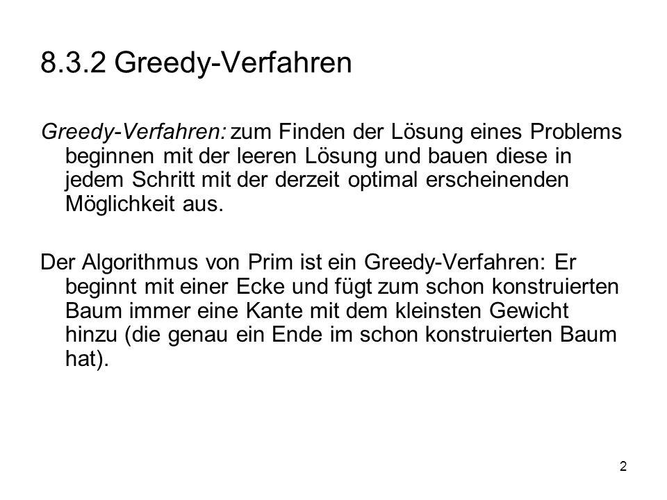 8.3.2 Greedy-Verfahren