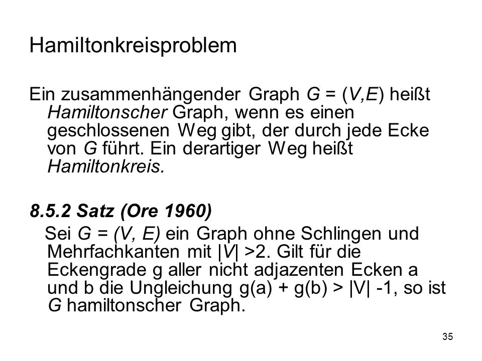 Hamiltonkreisproblem