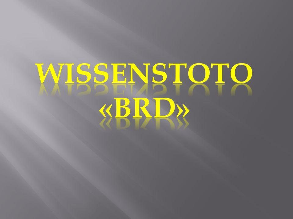Wissenstoto «BRD»