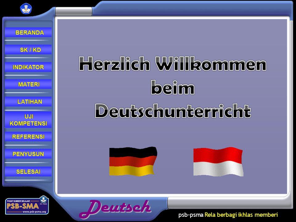 Herzlich Willkommen beim Deutschunterricht