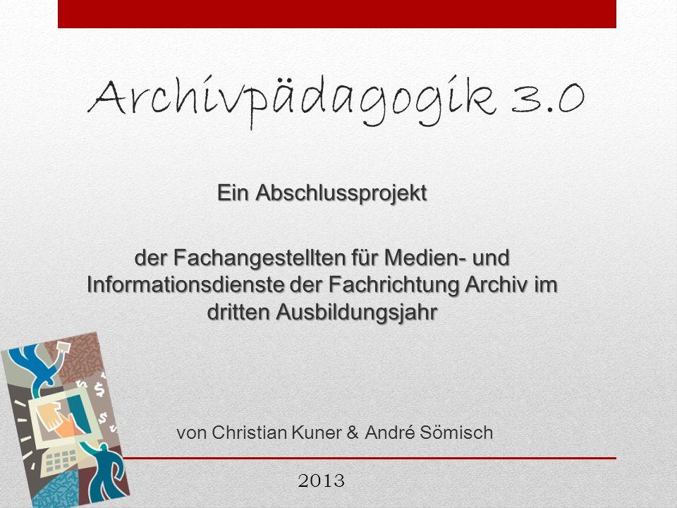 von Christian Kuner & André Sömisch