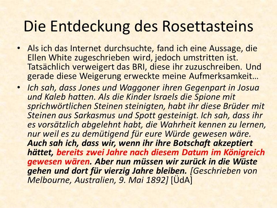 Die Entdeckung des Rosettasteins