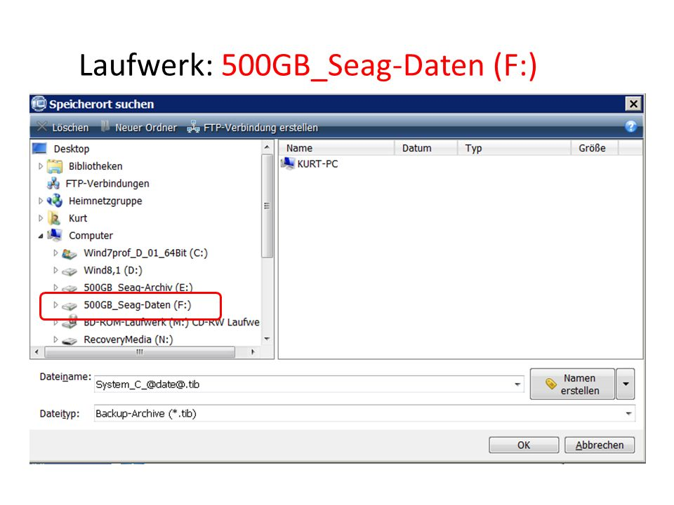 Laufwerk: 500GB_Seag-Daten (F:)