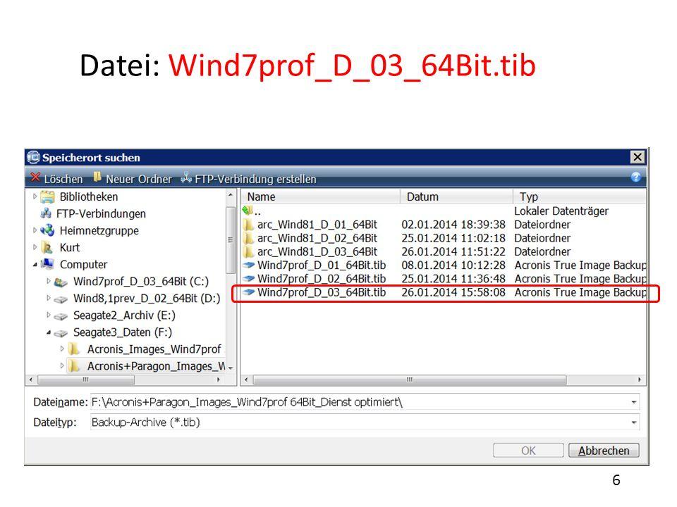 Datei: Wind7prof_D_03_64Bit.tib
