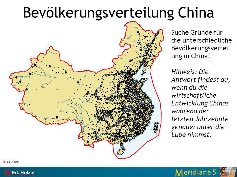 Bevölkerungsverteilung China