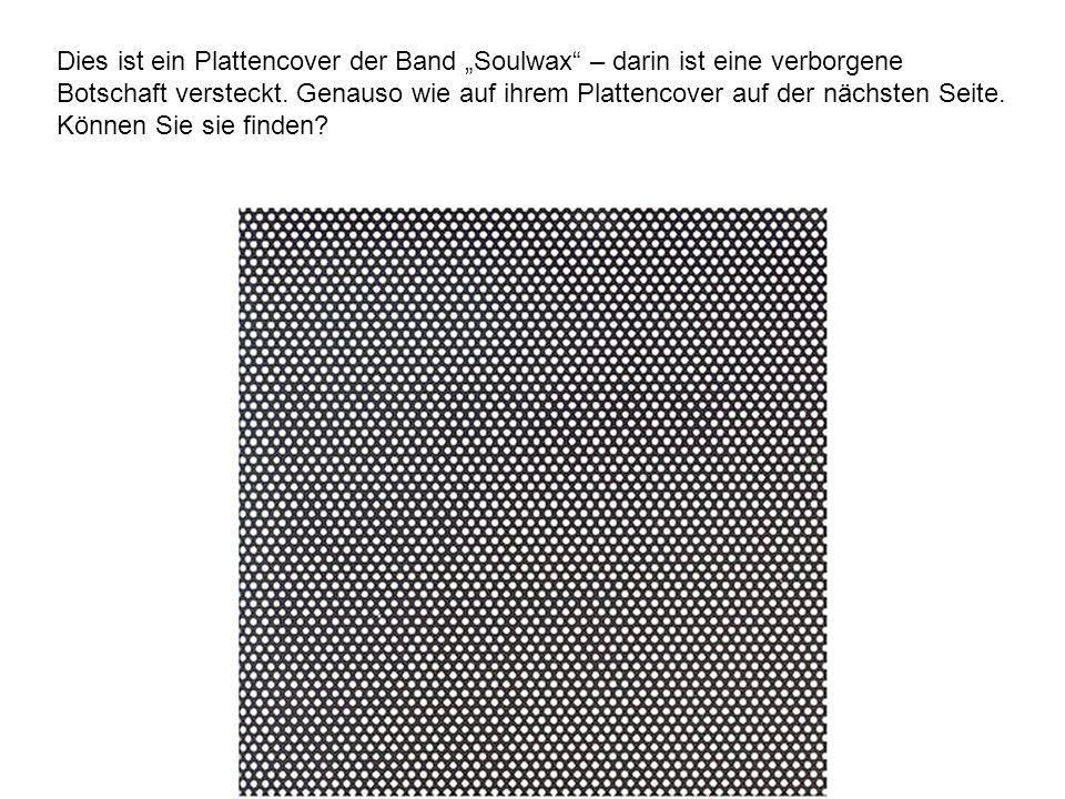 """Dies ist ein Plattencover der Band """"Soulwax – darin ist eine verborgene Botschaft versteckt."""