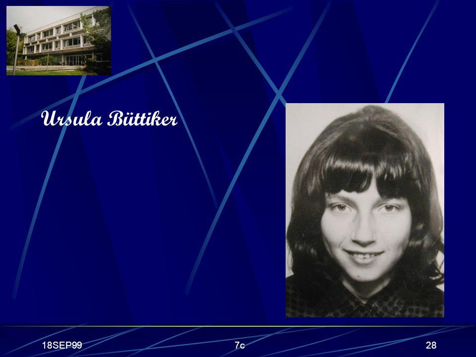 Ursula Büttiker 18SEP99 7c