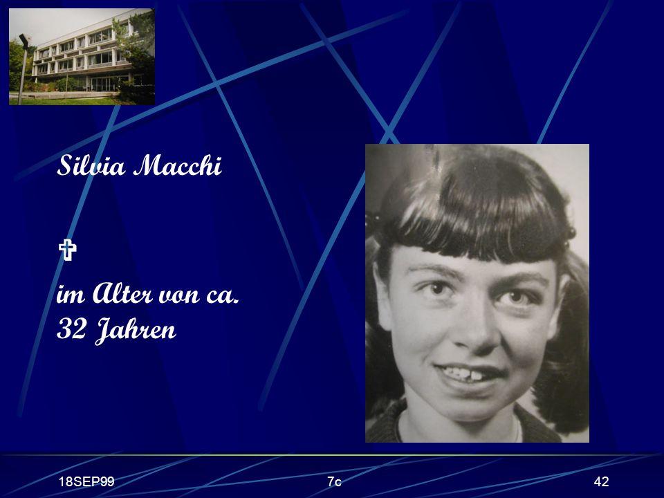 Silvia Macchi  im Alter von ca. 32 Jahren 18SEP99 7c