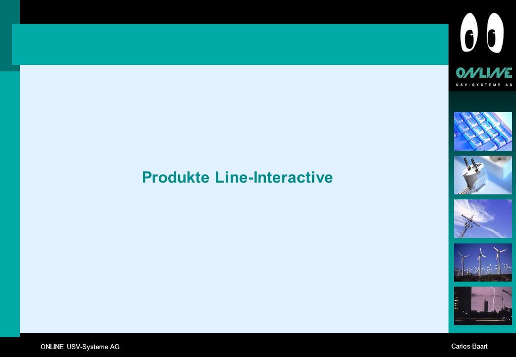 Produkte Line-Interactive