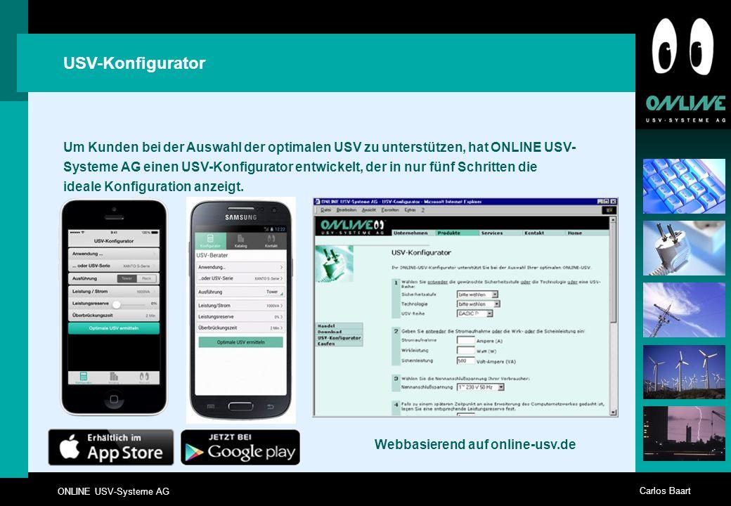 Webbasierend auf online-usv.de